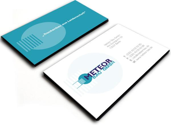 Visitenkarte der Meteor Bau GmbH